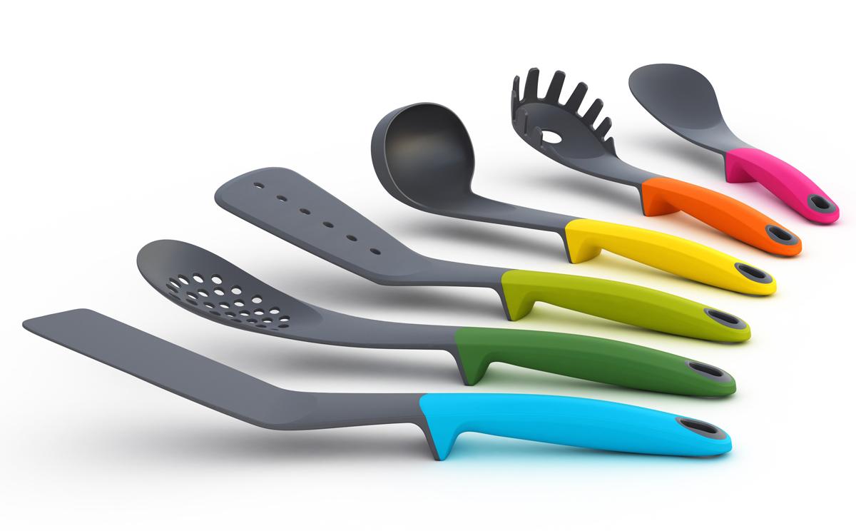 Sublimely utilitarian joseph joseph utensils panfilo - Ustensile de cuisine joseph joseph design ...