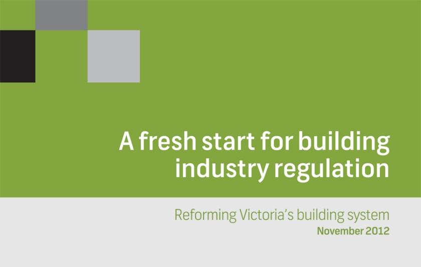 a fresh start for building industry regulation