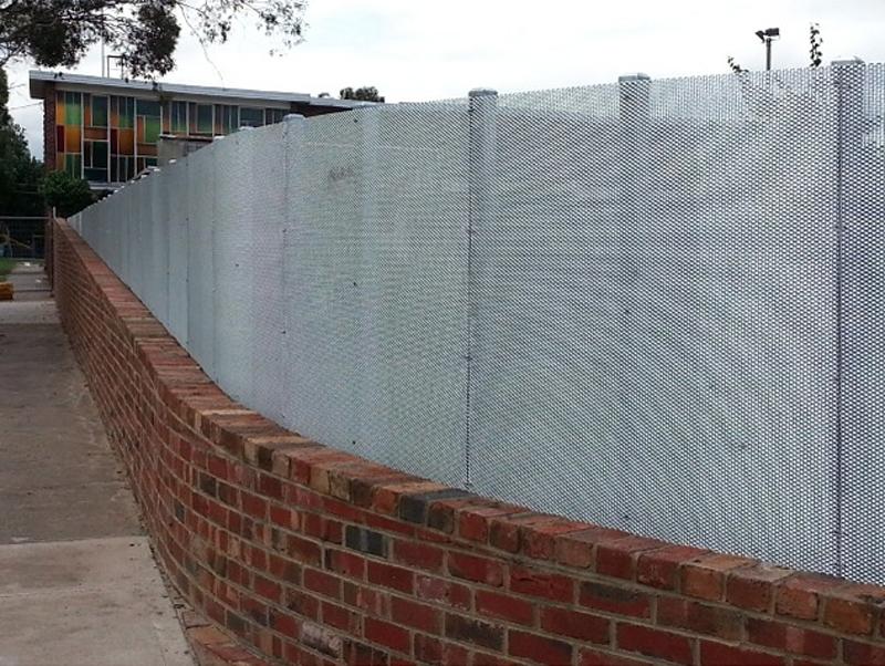 st bernards parish fence