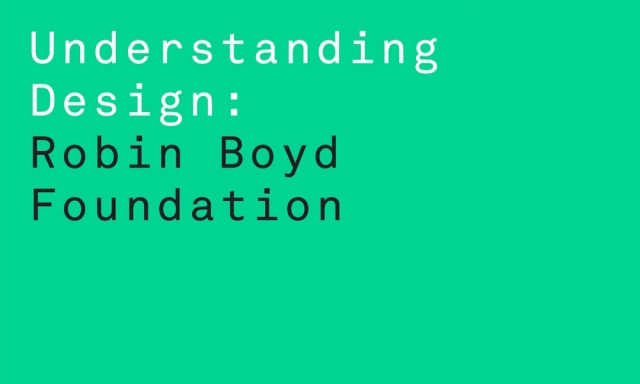 robin boyd foundation
