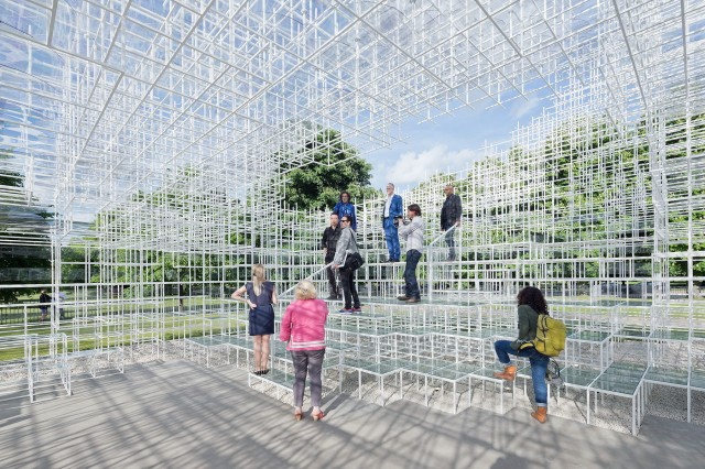 serpentine pavilion gathering