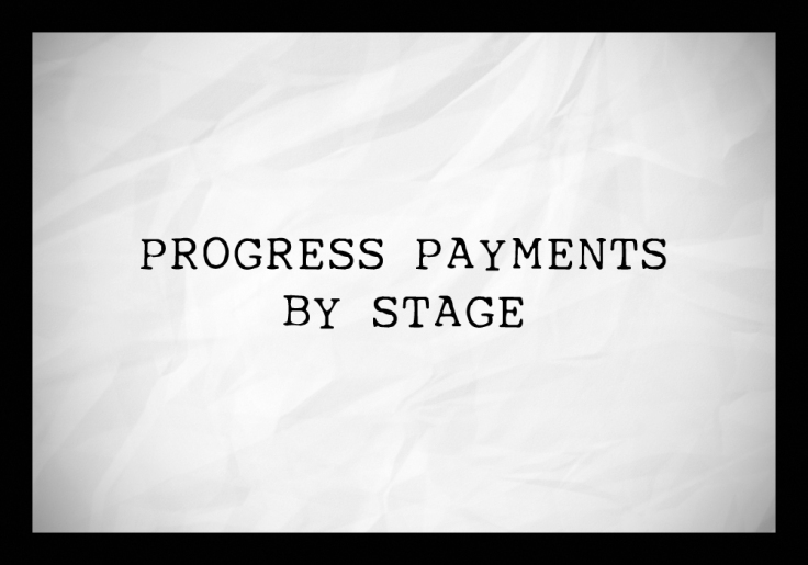 progress payments