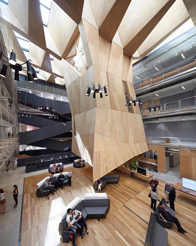 melbourne school of design atrium