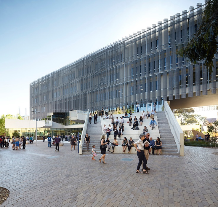 melbourne school of design amphiteatre