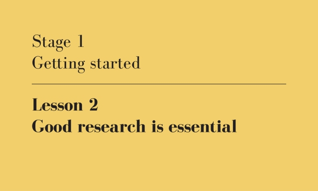 good research is essential