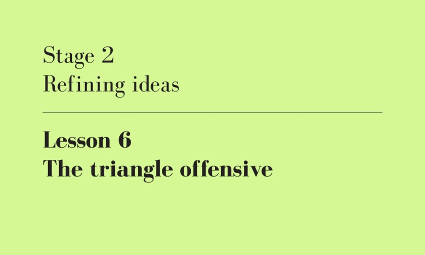 the triangle offensive