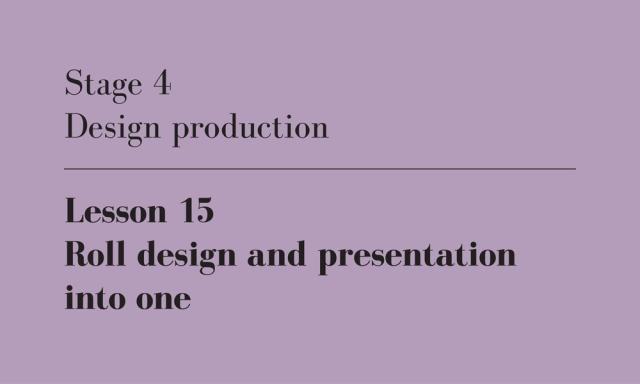 design and presentation