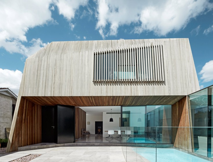 Coy Yiontis, Architecture, Design, Timber screen, Swimming pool, Melbourne, House