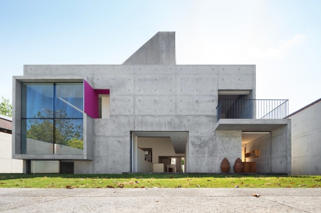 Andrés Casillas, Evolva Architects, Architecture, Design, Concrete, Melbourne, House, Luis Barragan