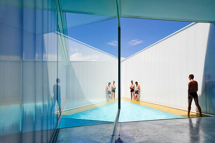 Robin Williams, Architecture, Cantilever, Water, Swimming pool, Melbourne