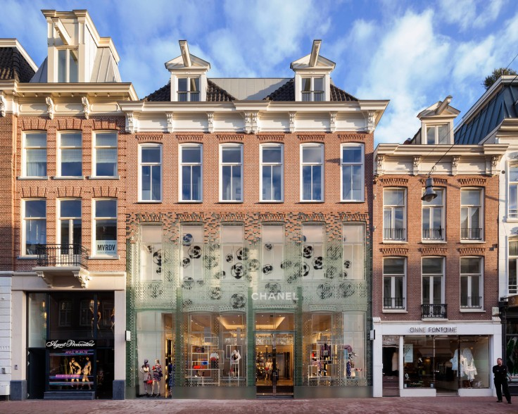 Chanel; MVRDV; Architecture; Shopping; Crystal; Glass