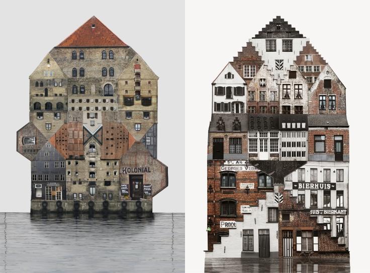 Genius loci; art; photography; collage