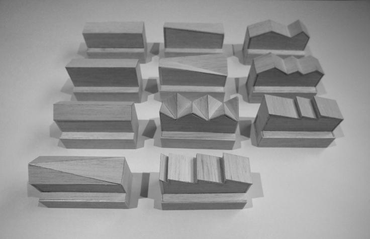 Hood House; models; balsa wood; Mihaly Slocombe