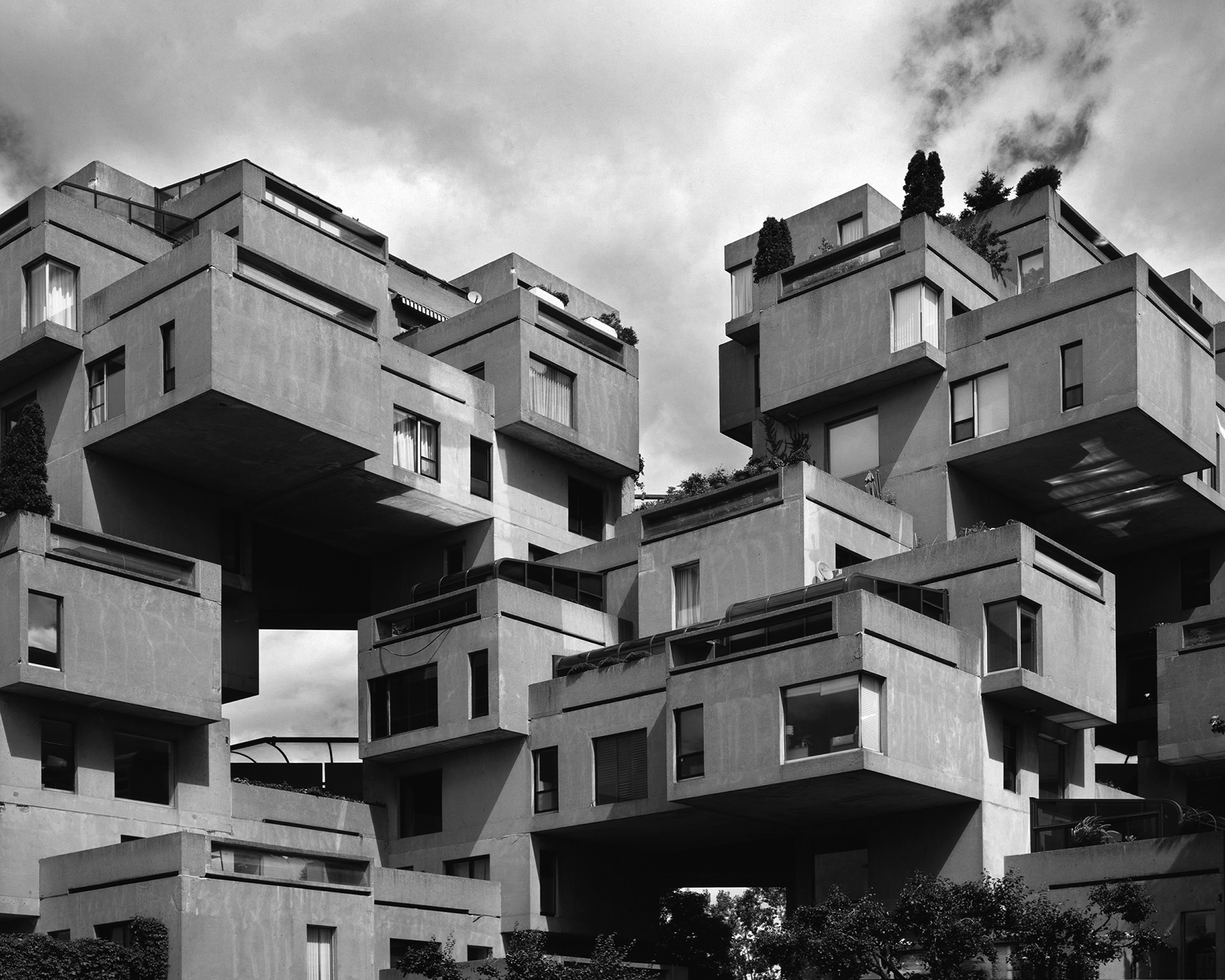 Moshe Safdie; social housing; architecture