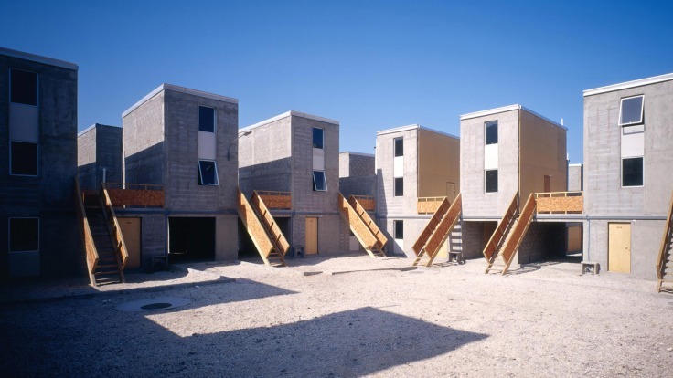 Elemental; Alejandro Aravena; Quinta Monroy housing; Architecture