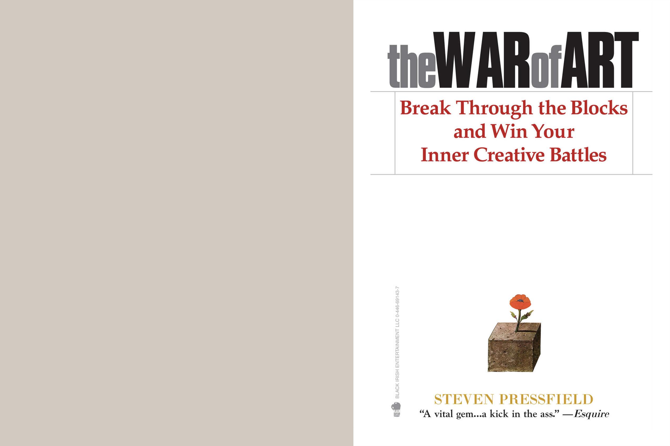 The War of Art; Steven Pressfield; Business; Book