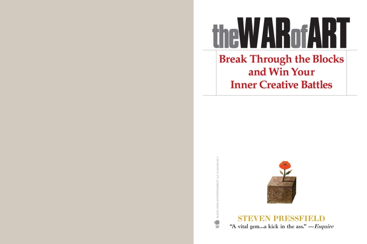 The War of Art; Steven Pressfield; Business; Book